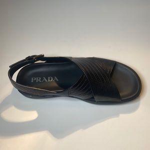 Black Prada Sandals